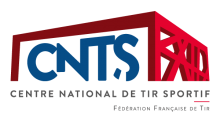 Logo CNTS Centre National de Tir Sportif
